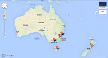 Mapping australia and its neighbours year 3 geography web quest click on the google maps image to go tot he google maps website and start exploring australia and new zealand gumiabroncs Gallery
